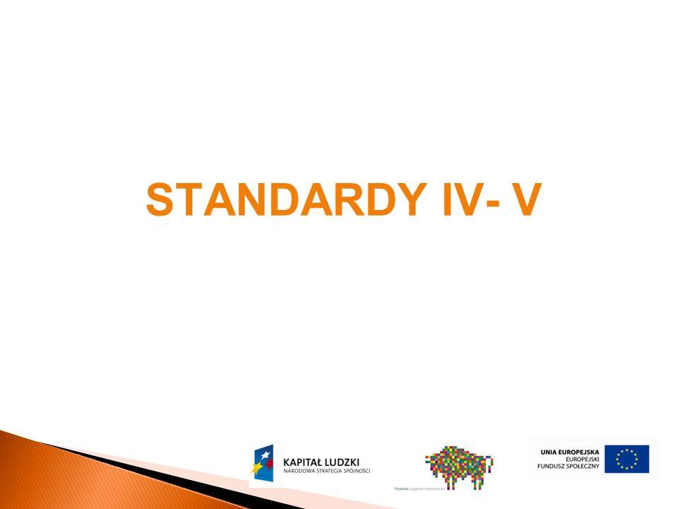 STANDARDY IV- V