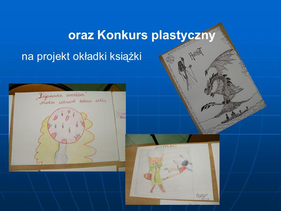 oraz Konkurs plastyczny na projekt okładki książki