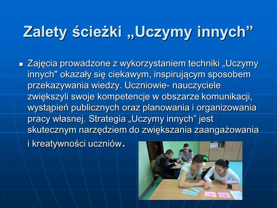 Projekty w ramach Tygodnia Czytania realizowane były przez panie Annę Guzy, Dorotę Głogowską, Karolinę Hadula i Iwonę Procz.