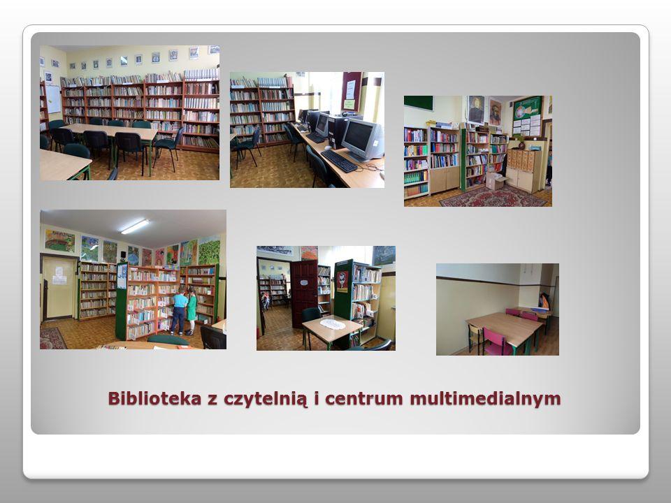 Biblioteka z czytelnią i centrum multimedialnym
