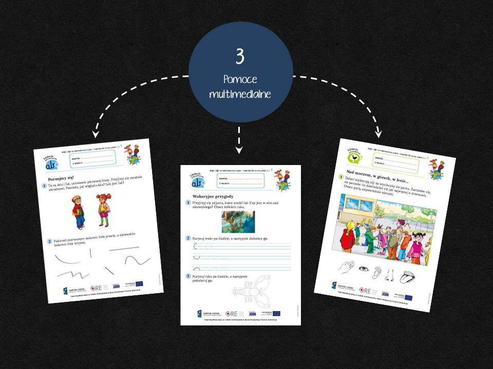 2 Karty pracy 3 Pomoce multimedialne