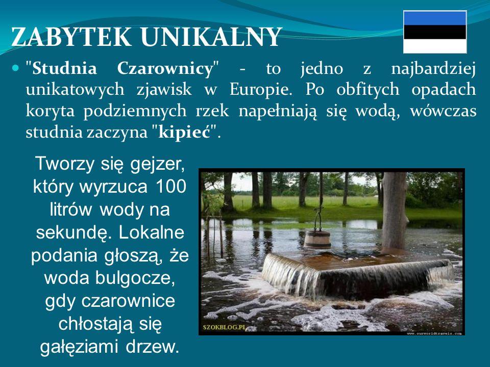 ZABYTEK UNIKALNY Studnia Czarownicy - to jedno z najbardziej unikatowych zjawisk w Europie.