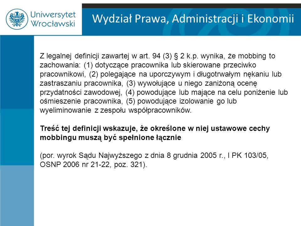 Wydział Prawa, Administracji i Ekonomii Wyrok z dnia 5 grudnia 2006 r.