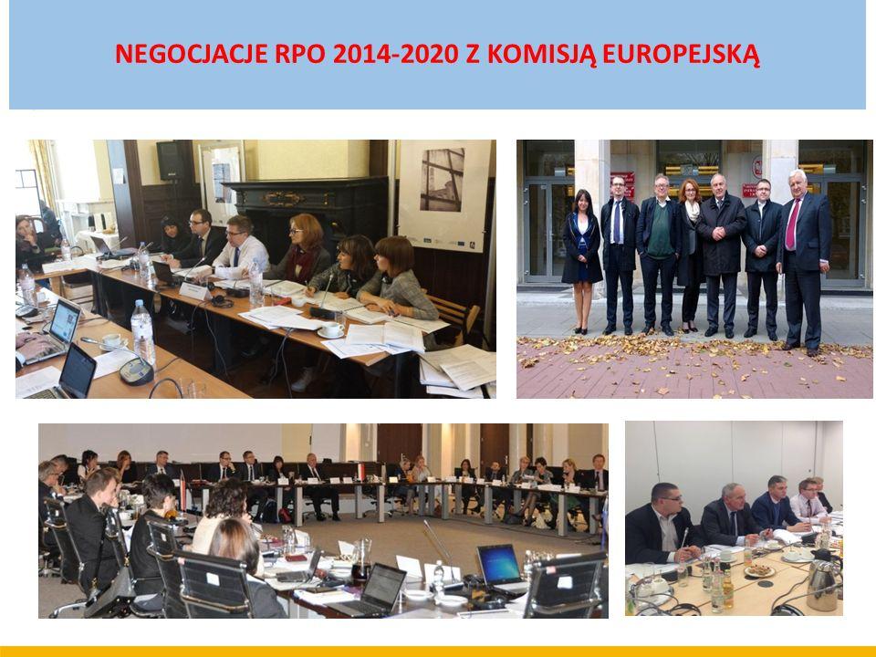 NEGOCJACJE RPO 2014-2020 Z KOMISJĄ EUROPEJSKĄ