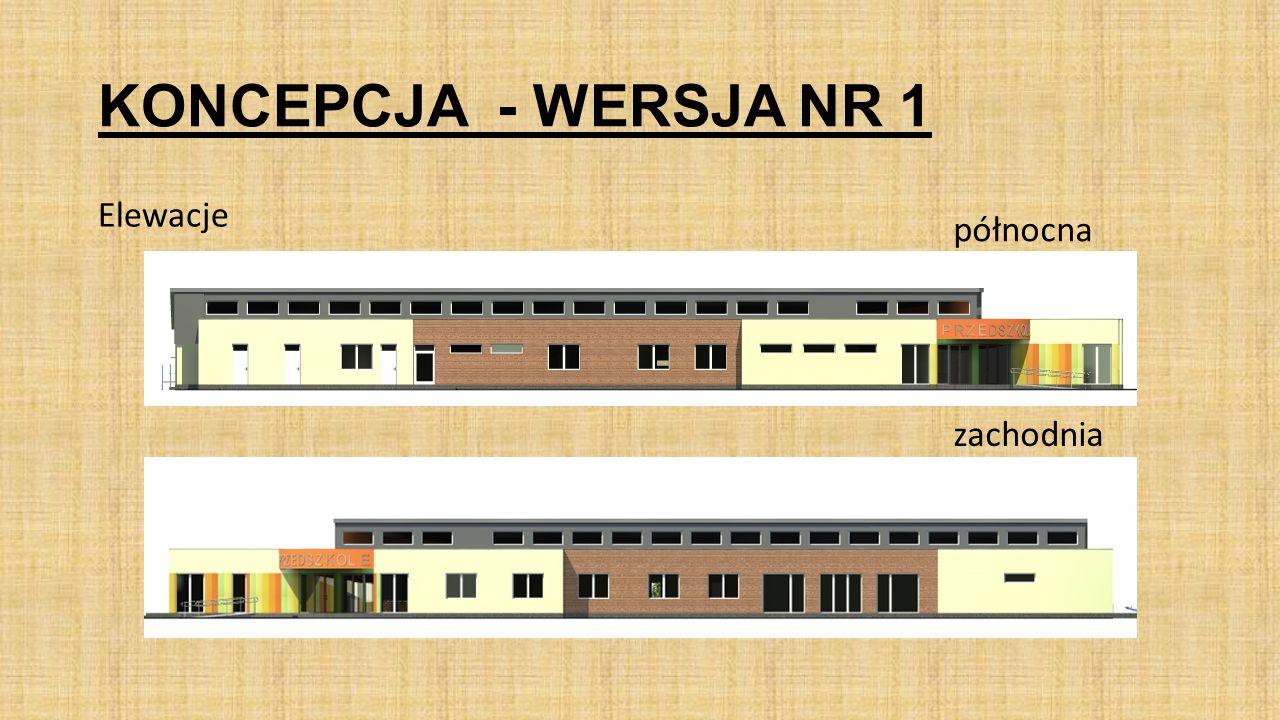 KONCEPCJA - WERSJA NR 3 ROZWIĄZANIA KONSTRUKCYJNO - MATERIAŁOWE POSZCZEGÓLNYCH ELEMENTÓW BUDYNKU: Budynek projektuje się w technologii tradycyjnej: Ławy i ściany fundamentowe: żelbetowe; Ściany zewnętrzne, nośne: murowane z pustaków ceramicznych poryzowanych lub gazobetonowych z termoizolacją ze styropianu Ściany wewnętrzne z pustaków ceramicznych poryzowanych, od wewnątrz ściany tynkowane ( tynki cement.-wapienne kat.III).