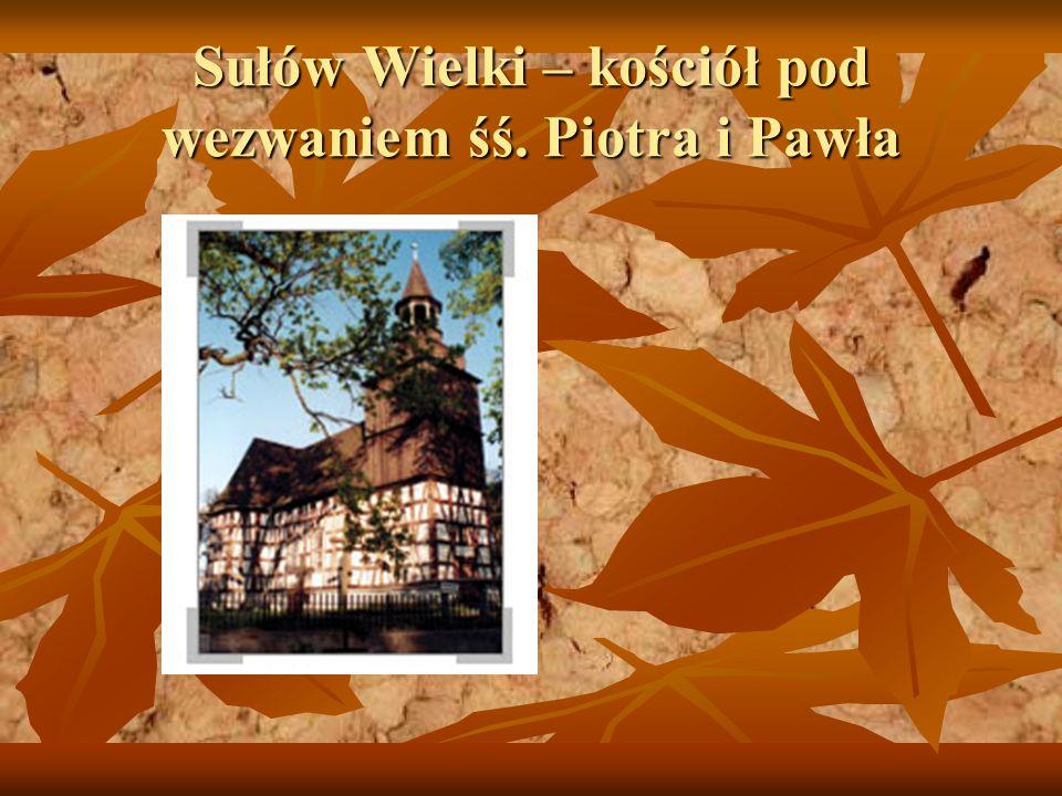 Sułów Wielki – kościół pod wezwaniem śś. Piotra i Pawła