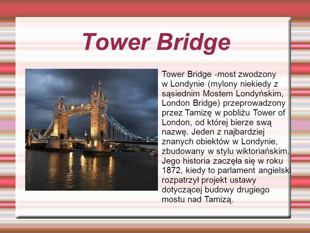 London Eye London Eye (Londyńskie Oko), ukończone w 1999 r., nazywane również Millennium Wheel (Koło Milenijne.)