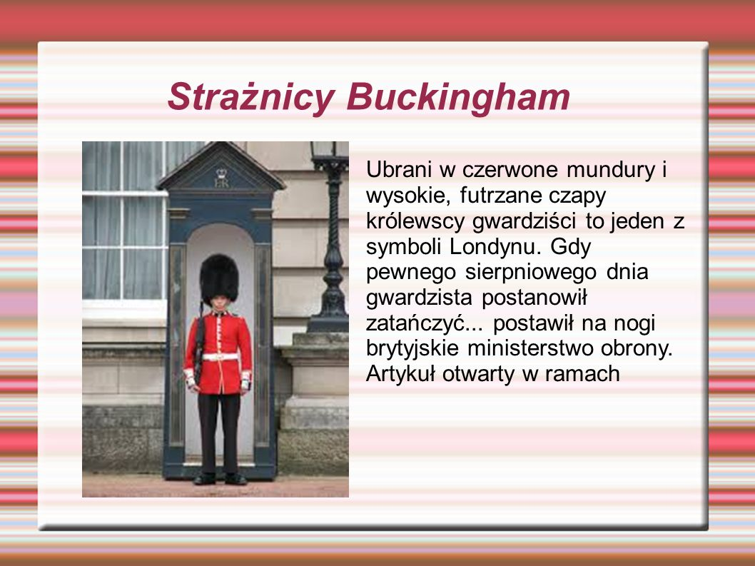Buckingham Palace Pałac Buckingham (ang.