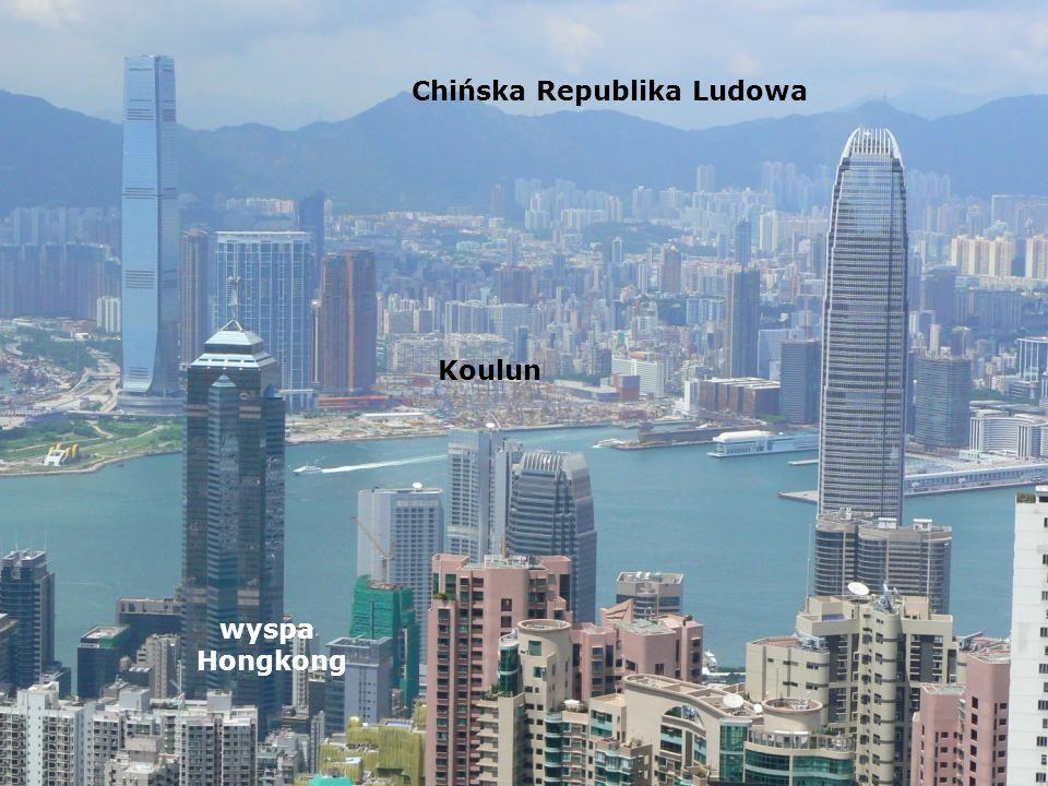 wyspa Hongkong Koulun Chińska Republika Ludowa
