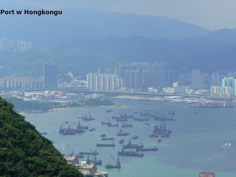 Port w Hongkongu