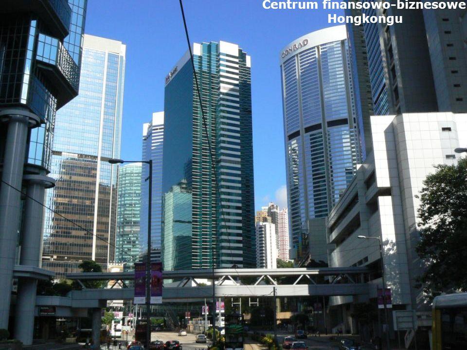 Centrum finansowo-biznesowe Hongkongu