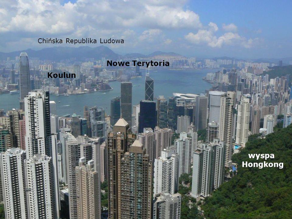 Nowe Terytoria Koulun wyspa Hongkong Chińska Republika Ludowa