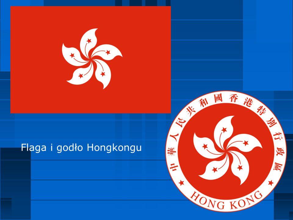 Flaga i godło Hongkongu