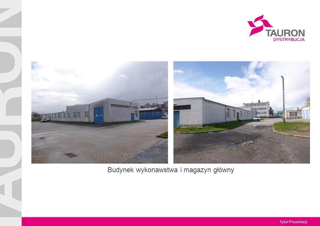 Tytuł Prezentacji Budynek techniczny wielofunkcyjny na potrzeby TAURON Dystrybucja Pomiary Sp.