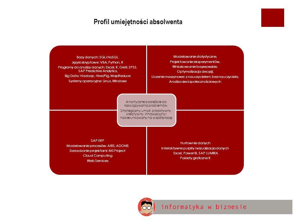 Kilka przykładowych ofert pracy - na stanowisko ANALITYK DANYCH BIZNESOWYCH (DATA SCIENTIST) [1] Źródło: Pracuj.pl
