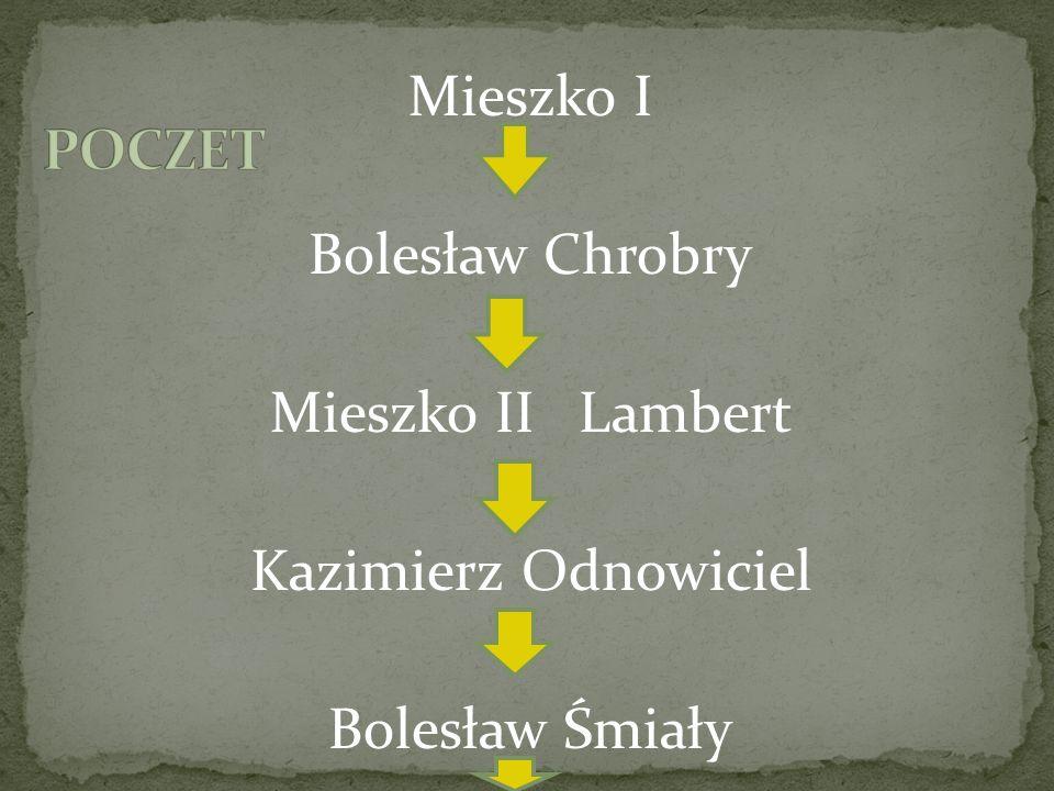 Władysław Herman Bolesław Krzywousty ……. Rozbicie dzielnicowe Władysław Łokietek Kazimierz Wielki