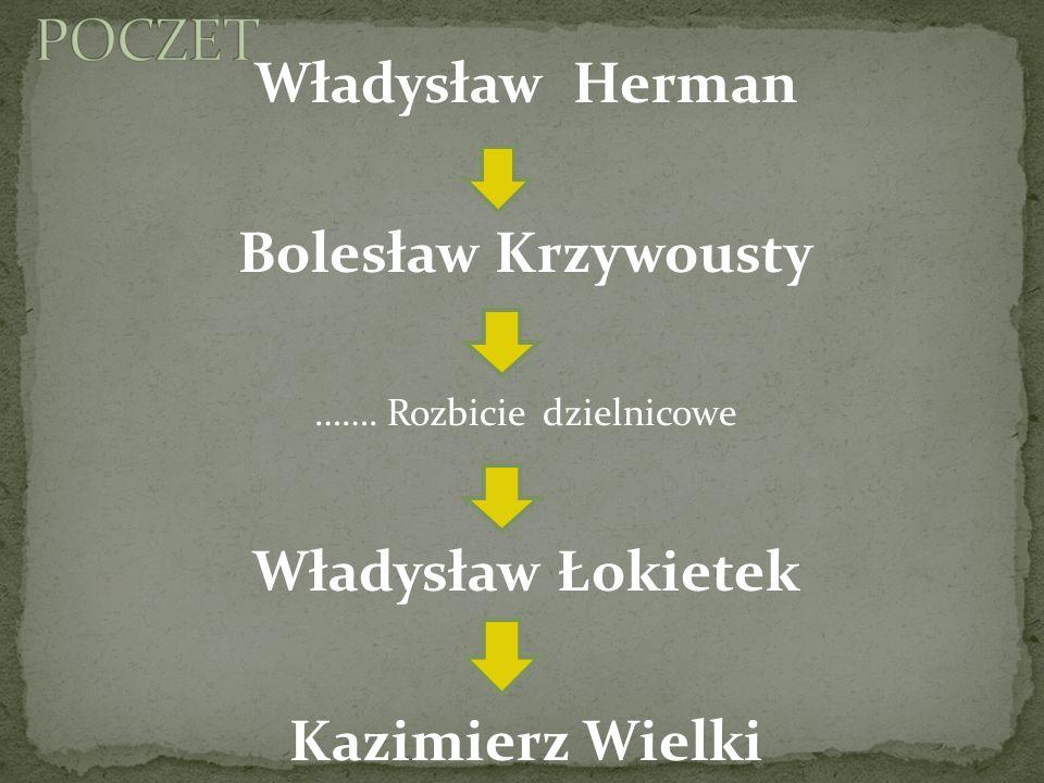 Władysław Łokietek urodził się w czasie największego rozdrobnienia Polski.