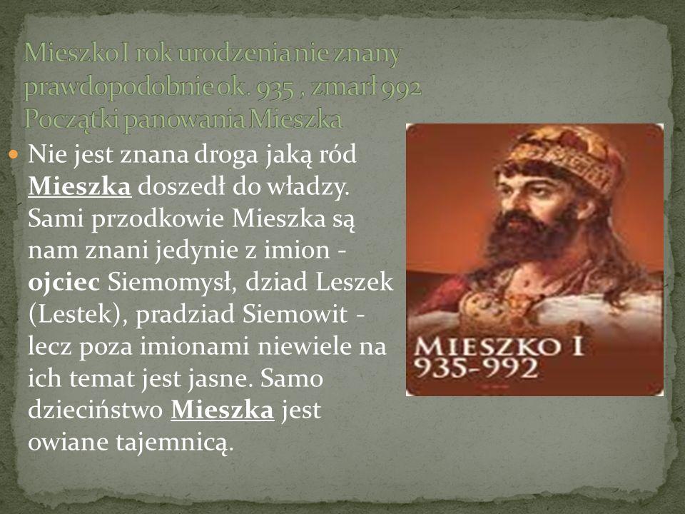 Bolesław Chrobry przeznaczył na swojego następcę Mieszka Lamberta mimo, że nie był on najstarszym synem.