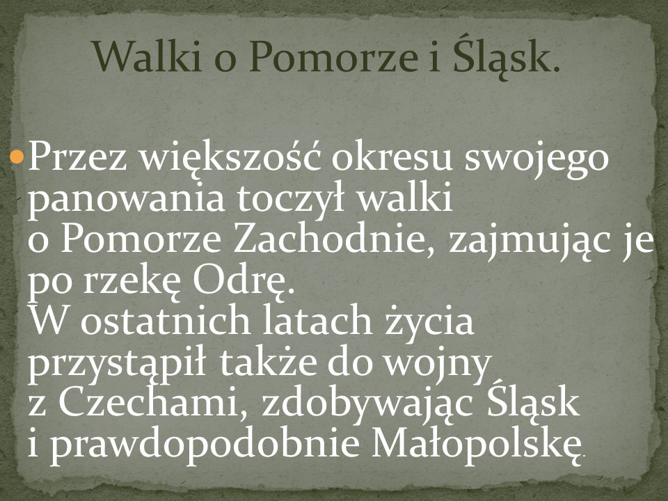 Panował w latach 992 – 1025 Pierwszy król Polski. Żył w latach 967 - 1025