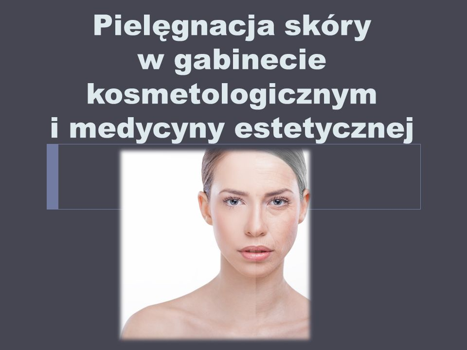 RODZAJE ZABIEGÓW  zabiegi biorewitalizujące lub kondycjonujące skórę – niezbędne do zachowania dobrej kondycji skóry:  zabiegi liftingujące  zabiegi nawilżające i odżywcze  zabiegi dotleniające skórę  zabiegi inwazyjne, natychmiastowo korygujące zmarszczki i poprawiające wygląd skóry np.:  iniekcje toksyny botulinowej  wypełniacze (głównie kwas hialuronowy)  karboksyterapia  mezoterapia igłowa i mikroigłowa