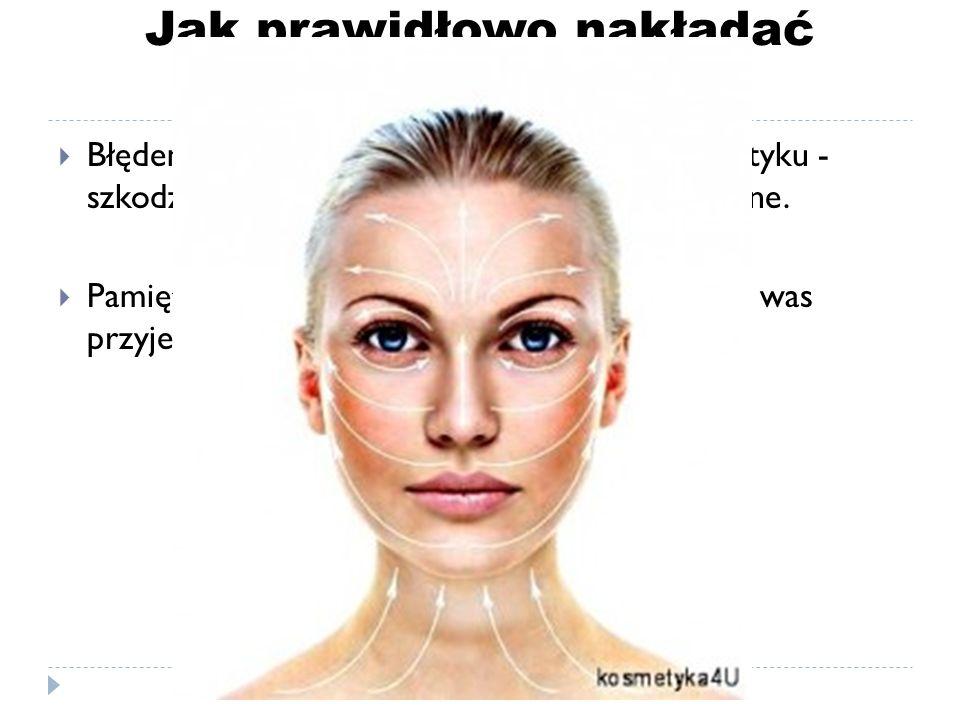 Jak prawidłowo nakładać krem?  Błędem natomiast jest mocne wcieranie kosmetyku - szkodzi ono skórze i jest po prostu nieprzyjemne.  Pamiętajcie, że
