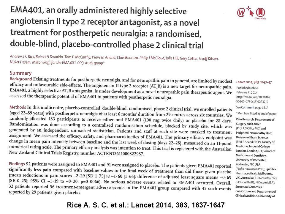 Rice A. S. C. et al.: Lancet 2014, 383, 1637-1647