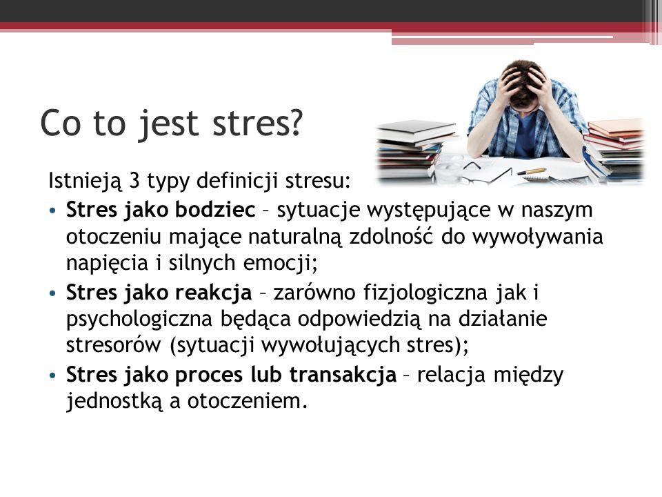 Jak zwalczać stres.