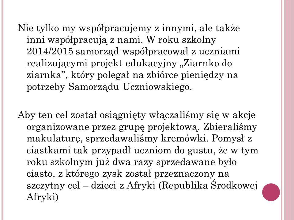 P RÓBNY ALARM PRZECIWPOŻAROWY - E WAKUACJA W dniu 16.10.2015 został przeprowadzony próbny alarm przeciwpożarowy połączony z ewakuacją uczniów i pracowników szkoły.