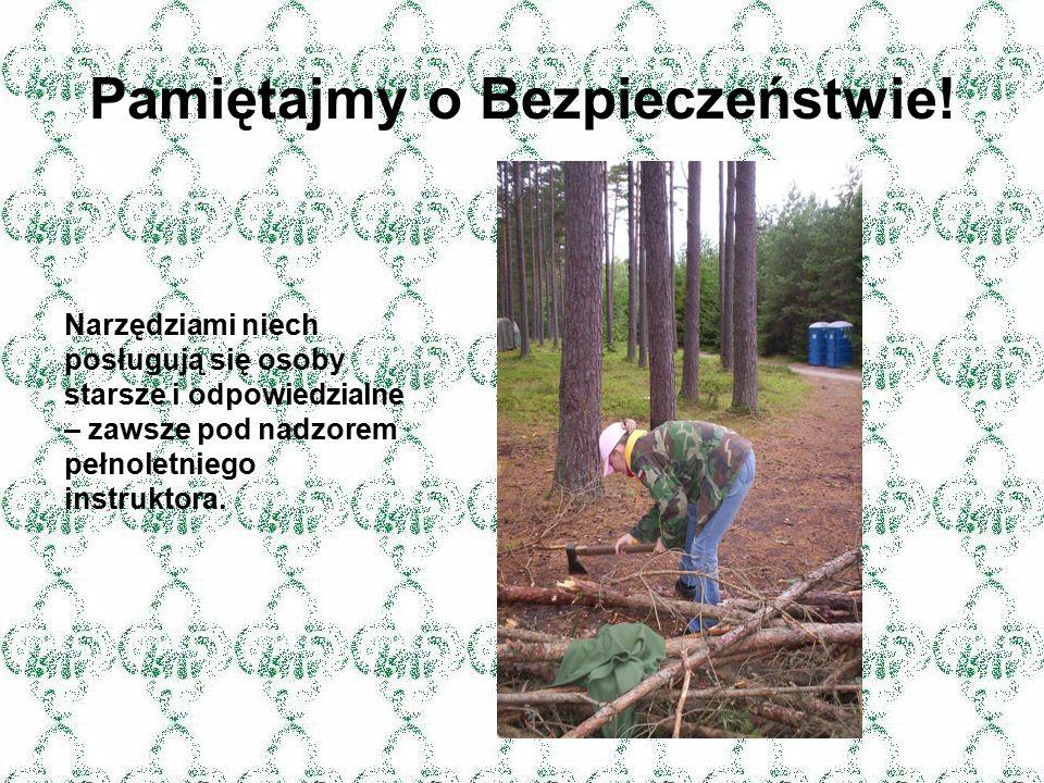 Urządzenia obozowe mogą być różne: ogrodzenie lub miejsce programowe