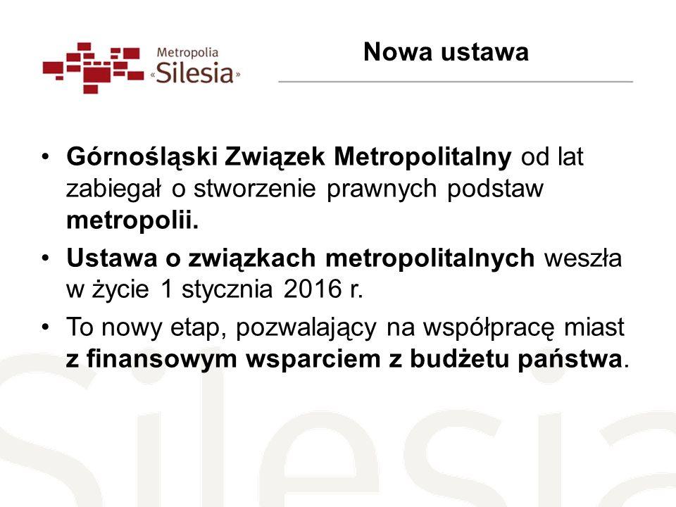 Górnośląski Związek Metropolitalny od lat zabiegał o stworzenie prawnych podstaw metropolii.