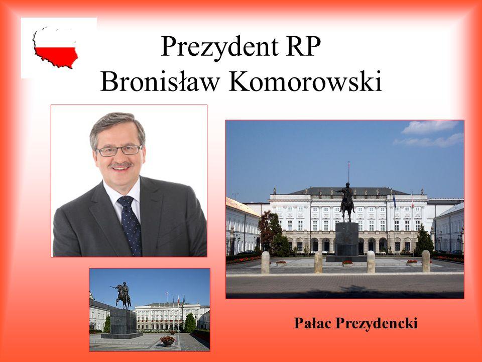 Prezydent RP Bronisław Komorowski Pałac Prezydencki