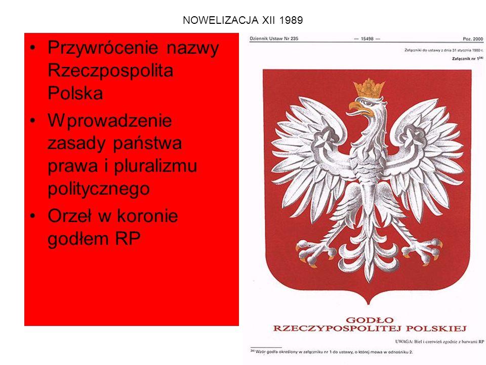 Zasada demokratycznego państwa prawnego Art.2.