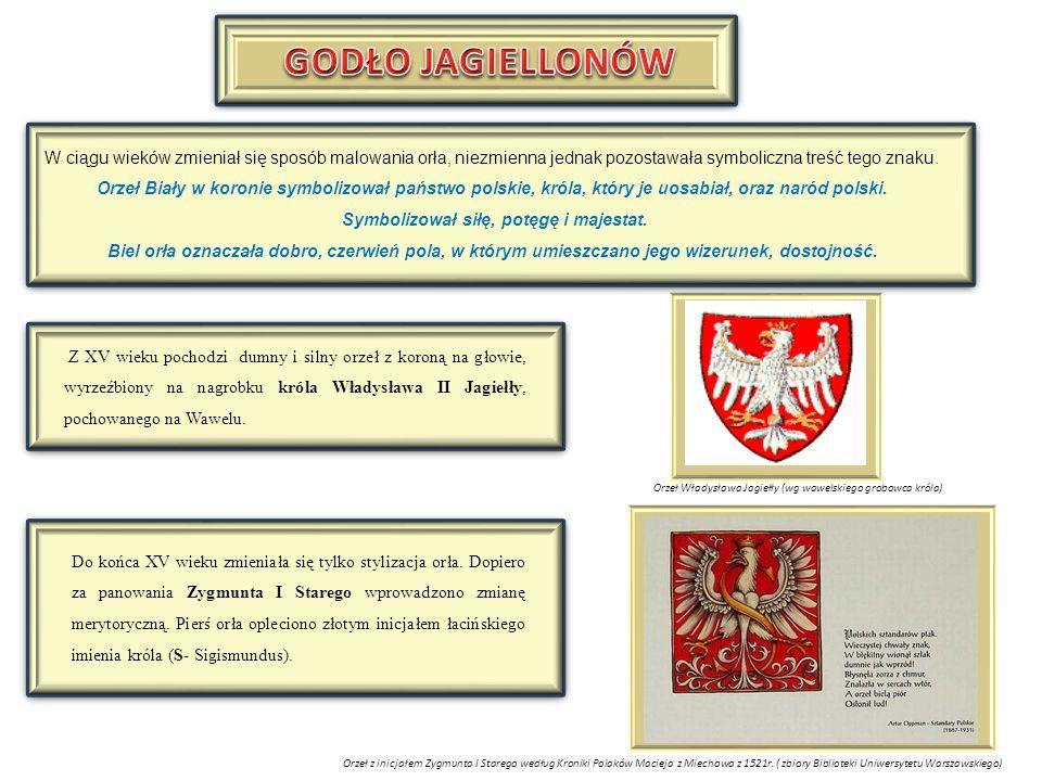W czasach panowania królów elekcyjnych Orzeł Biały pozostaje herbem Królestwa Polskiego (Korony).Z biegiem czasu zmienia się rysunek orła oraz kształt noszonej przez niego korony.