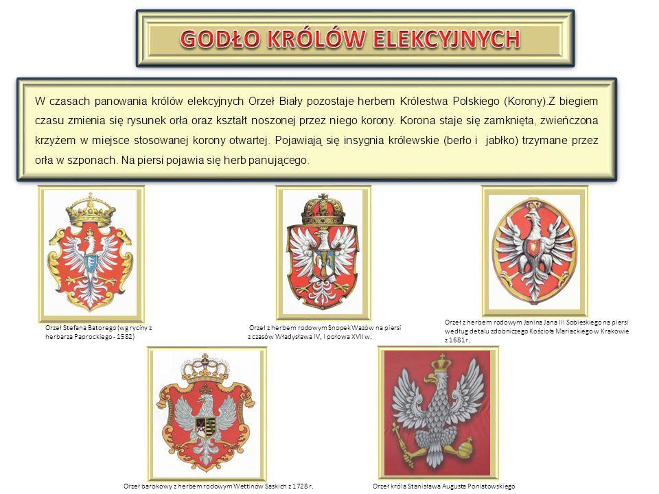 Po odzyskaniu niepodległości Orzeł Biały został uprawomocniony jako godło państwowe uchwałą sejmową w 1919 roku Oficjalny wizerunek godła przypominał orła Stanisława Augusta Poniatowskiego i był używany do 1927 roku.