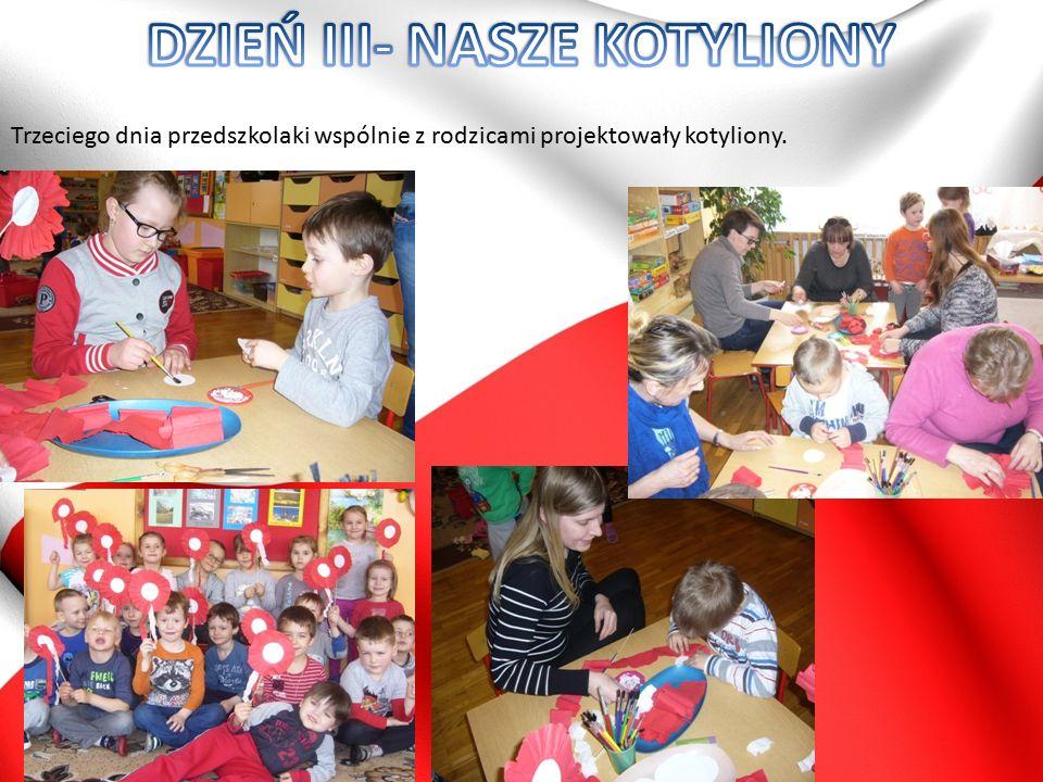 Tego dnia cała społeczność przedszkola miała okazję do wspólnego patriotycznego śpiewania…