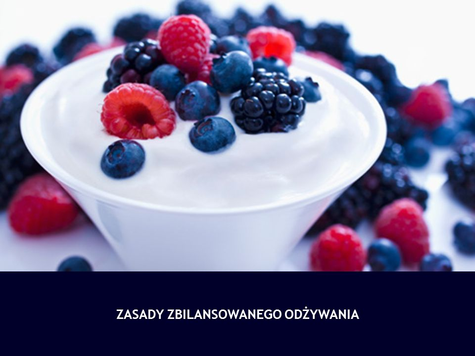 Regularne spożywanie takich pokarmów, które dostarczają organizmowi optymalnych ilości energii i zalecanych składników odżywczych, we właściwych proporcjach i z odpowiednią częstotliwością.