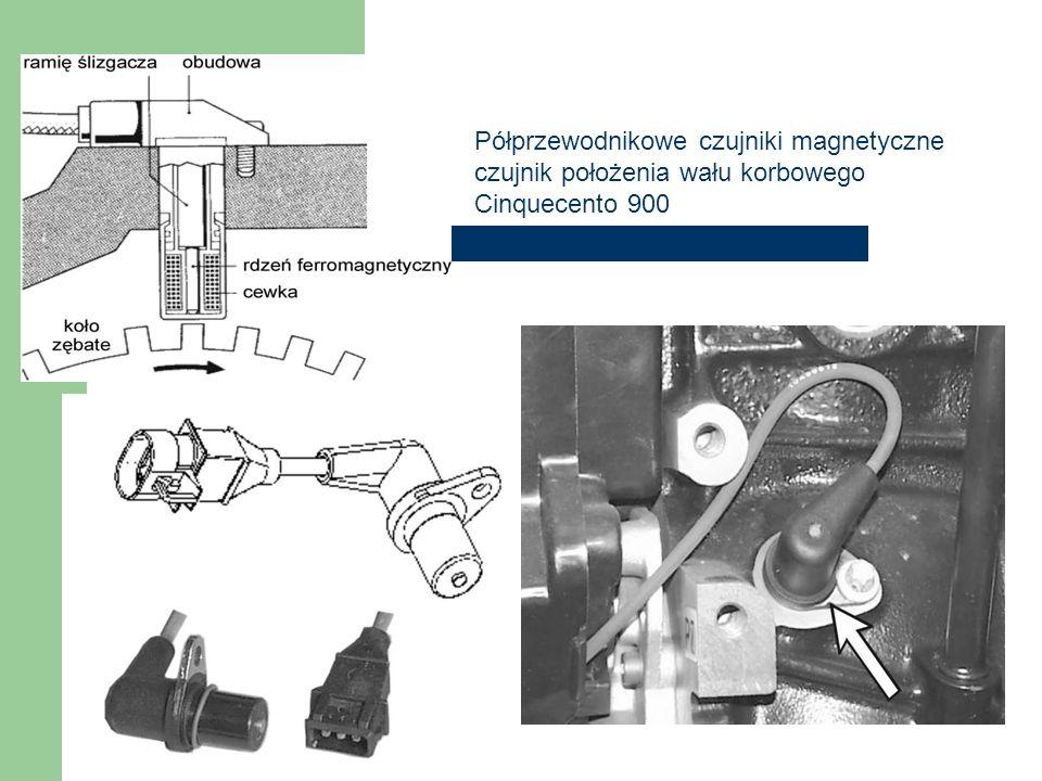Półprzewodnikowe czujniki magnetyczne czujnik położenia wału korbowego Cinquecento 900
