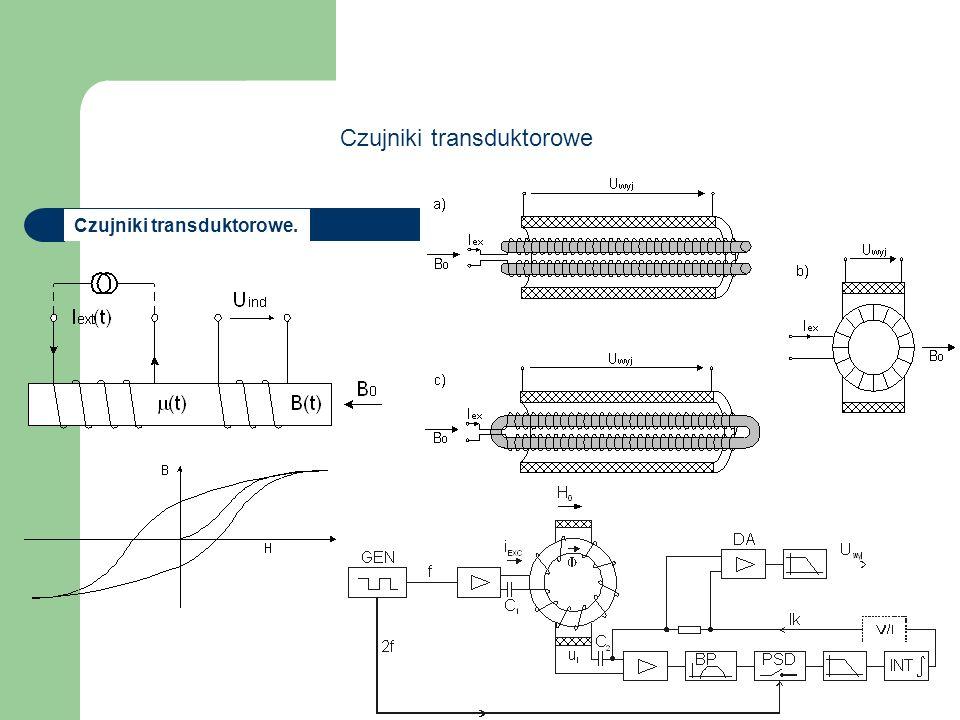 Czujniki transduktorowe (10.56) Czujniki transduktorowe.