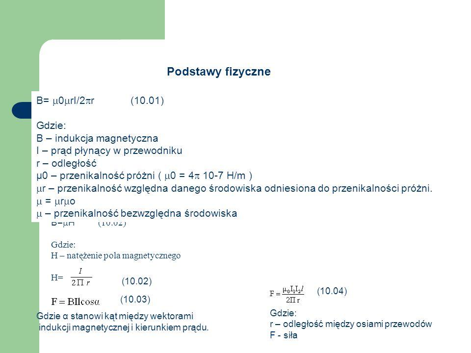 Podstawy fizyczne Rys.10.04 Pole magnetyczne Ziemi Rys.