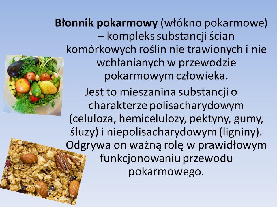 Błonnik pokarmowy (włókno pokarmowe) – kompleks substancji ścian komórkowych roślin nie trawionych i nie wchłanianych w przewodzie pokarmowym człowieka.