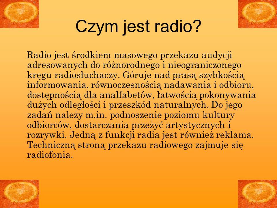 Czym jest radio.