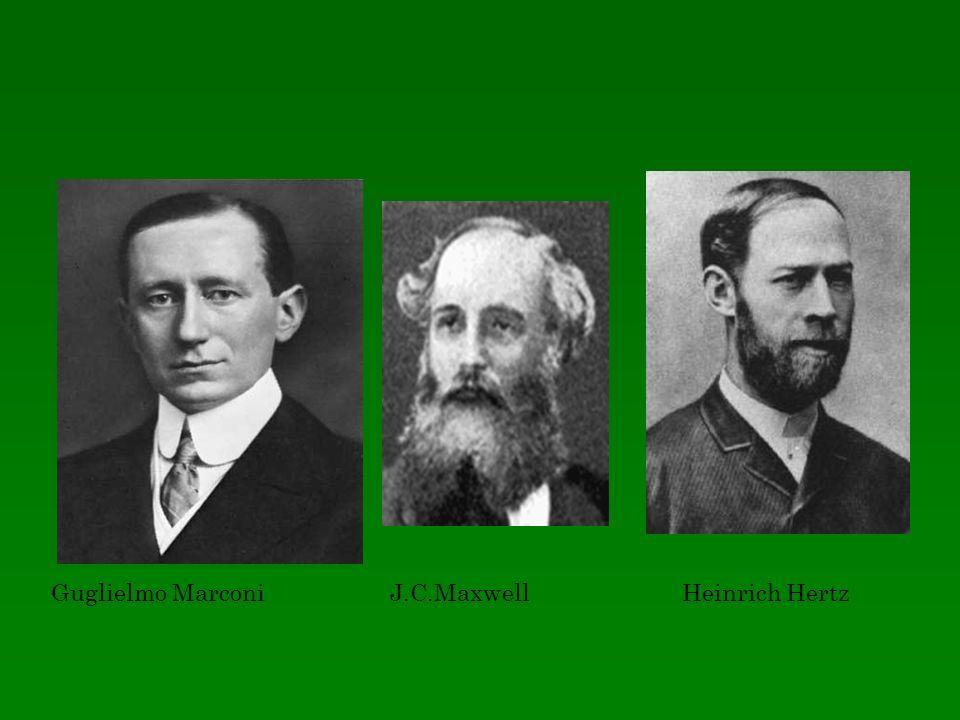 Guglielmo Marconi J.C.Maxwell Heinrich Hertz