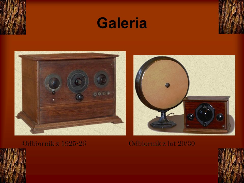 Galeria Odbiornik z 1925-26 Odbiornik z lat 20/30