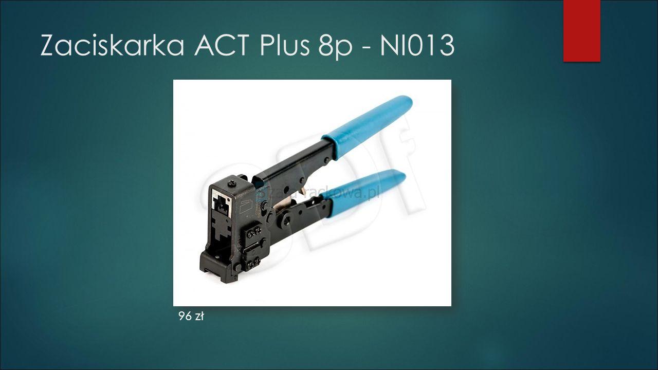 Zaciskarka ACT Plus 8p - NI013 96 zł