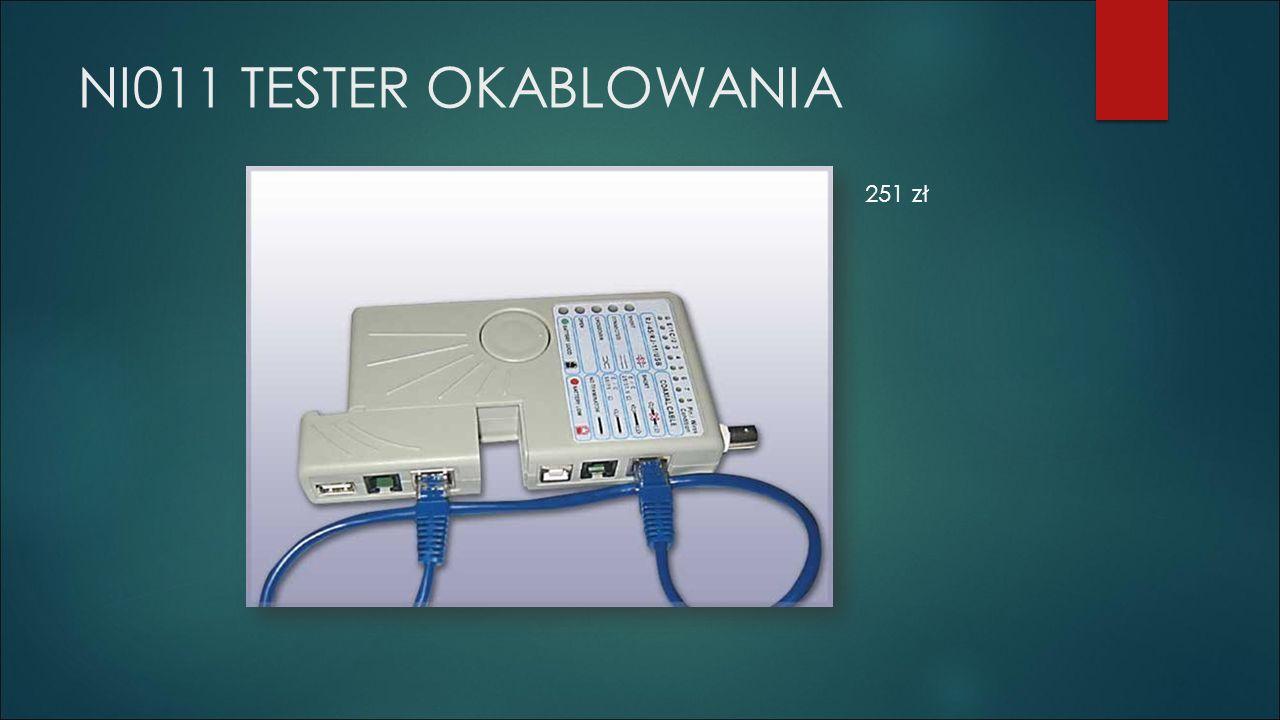 NI011 TESTER OKABLOWANIA 251 zł