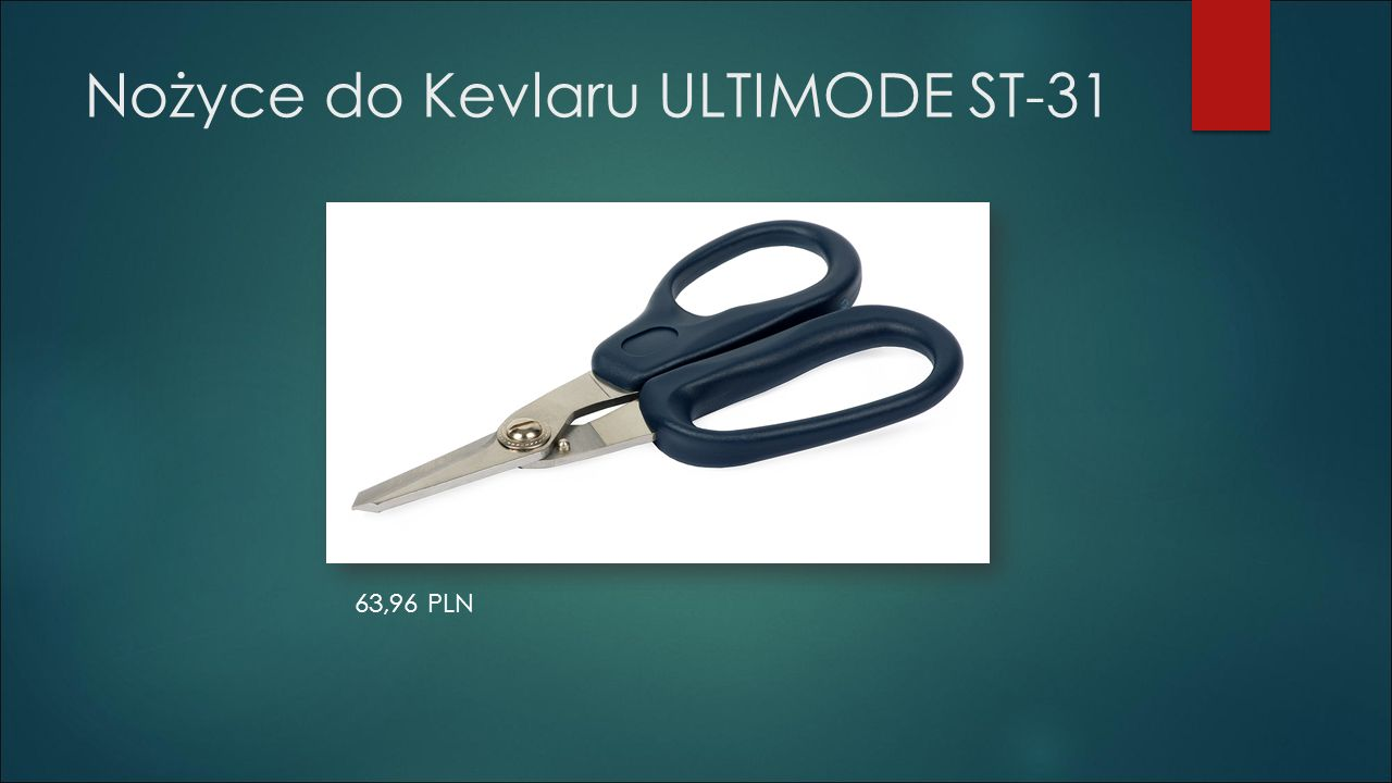 Nożyce do Kevlaru ULTIMODE ST-31 63,96 PLN