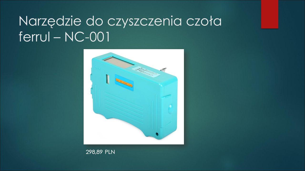 Narzędzie do czyszczenia czoła ferrul – NC-001 298,89 PLN