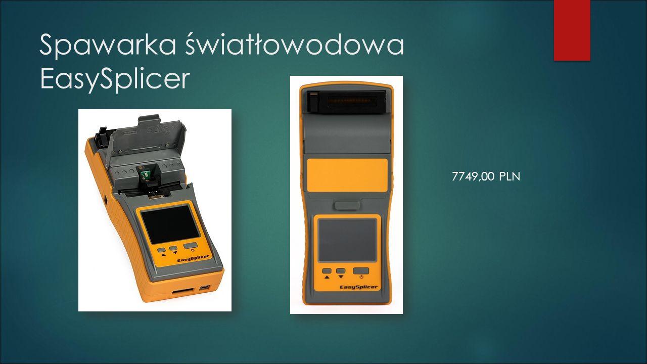 Spawarka światłowodowa EasySplicer 7749,00 PLN