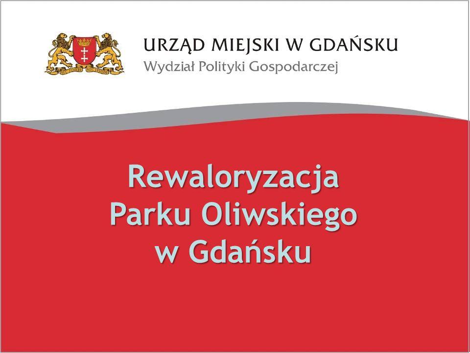 Finansowanie zadania. Rewaloryzacja Parku Oliwskiego w Gdańsku