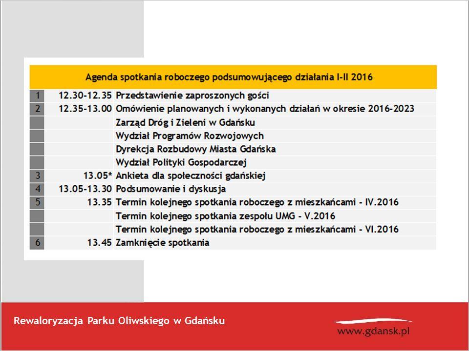 Przebudowa trzech kładek w Parku Oliwskim Szacowana wartość remontu to 498 000,00 zł.